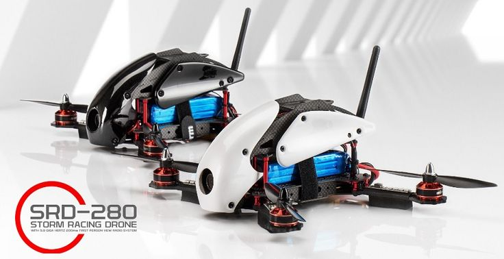 Storm racing drone SRD280. FPV quadcopter for professional racing pilots.