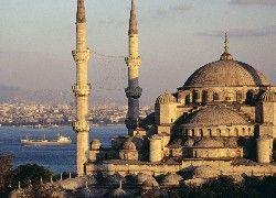 Turcja, Istambuł, Błękitny, Meczet
