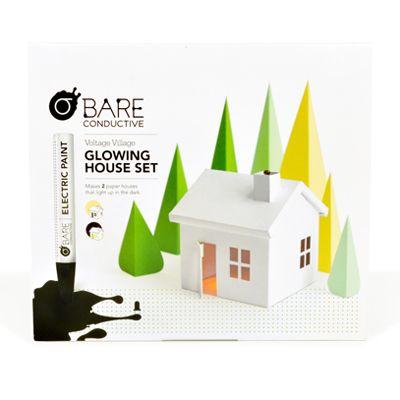 2.6 Glowing House Set -Voltage Village