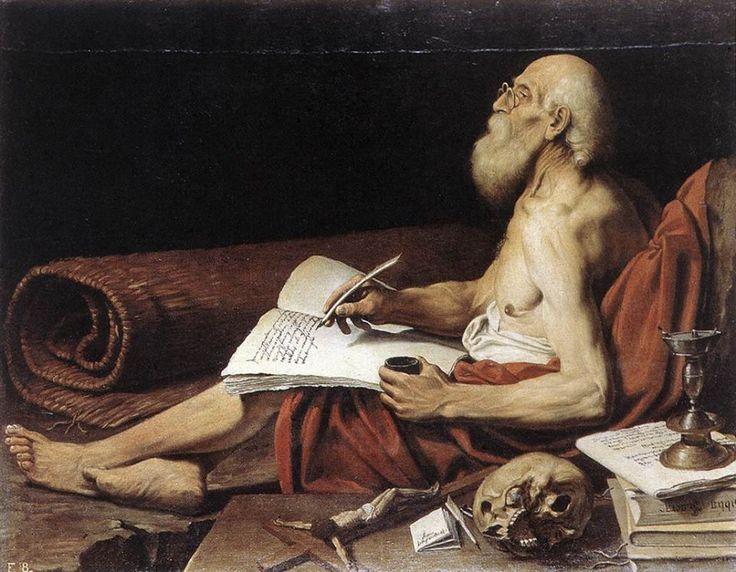 Leonello Spada (1576-1622) St Jérome, c.1610 Oil on canvas, 112 x 143 cm Galerie Nationale d'Art Antique, Rome