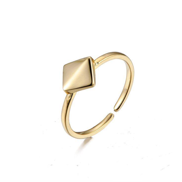 Løkke – enkel guld ring
