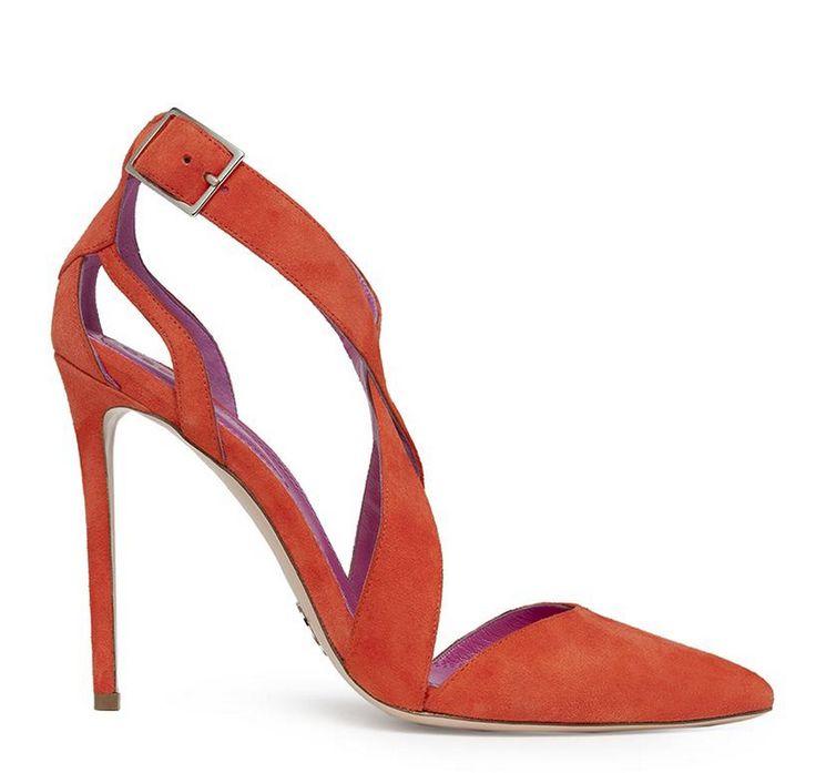 Looove these gorgeous heeled sandals by Oscar Tiye!