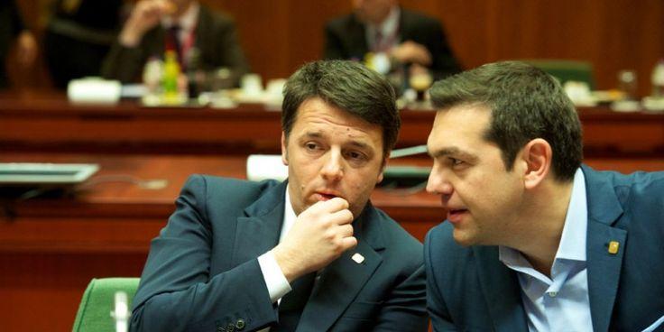 Δημιουργία - Επικοινωνία: Guardian: Η Ιταλία στο πλευρό της Ελλάδας - Ο Ρέντ...