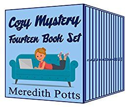 Meredith Potts Fourteen Book Cozy Mystery Set by [Potts, Meredith]