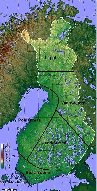 Suomen maisema-alueet (tietoa + kuvia + kartta).