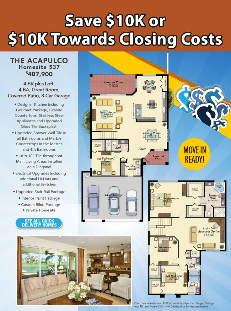 1000 images about florida homes favorite floorplans on for Florida floor plans for new homes