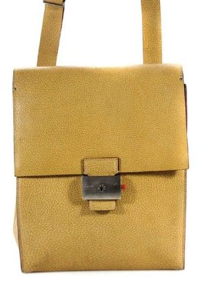 6773bd18df6c Bally Mint Vintage Two-way Style Clutch Cross Chrome Hardware Cross Body Bag