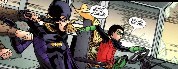 Damian Wayne And Stephanie Brown