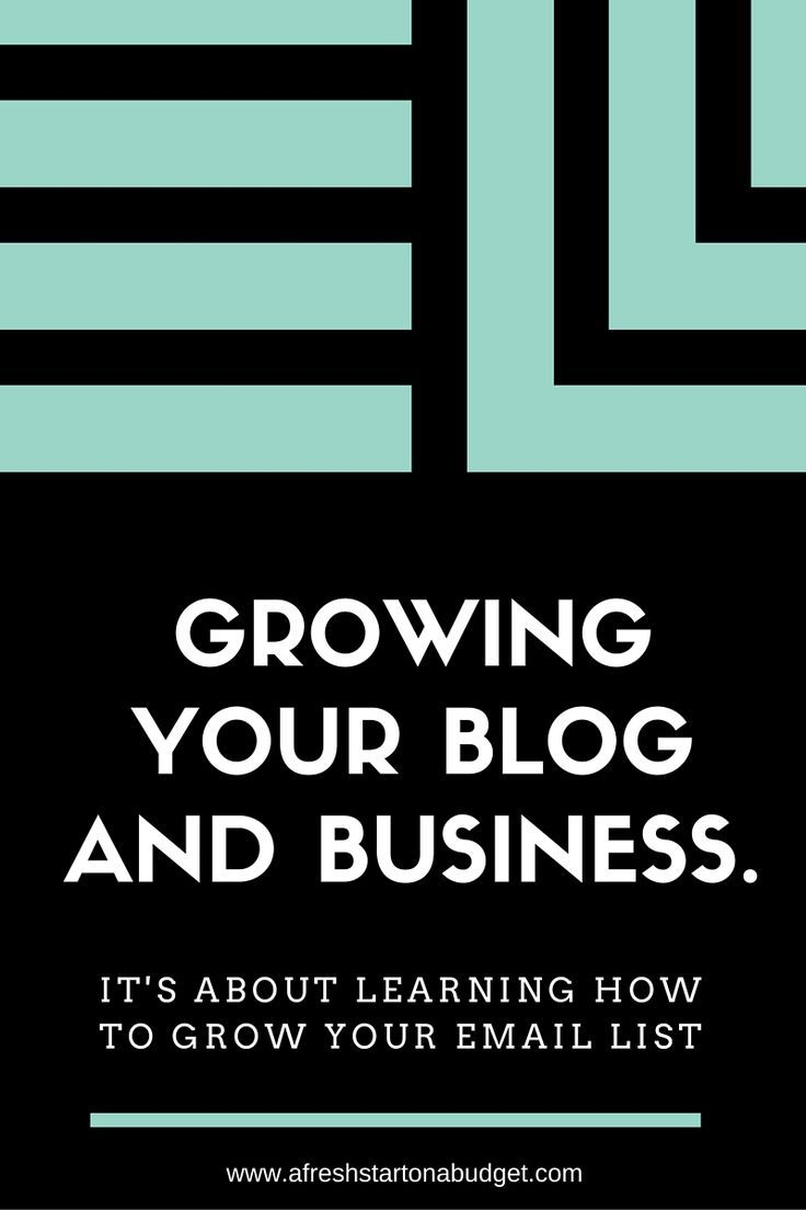 This year my blog traffic and income are getting bigger and better every month. How is that? It's about learning how to grow your email list.
