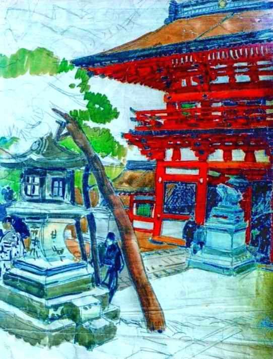 sanctuaire Yasaka à Kyoto