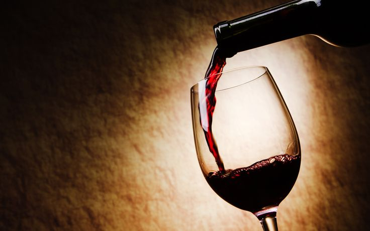 Red Wine Glass Wallpapers