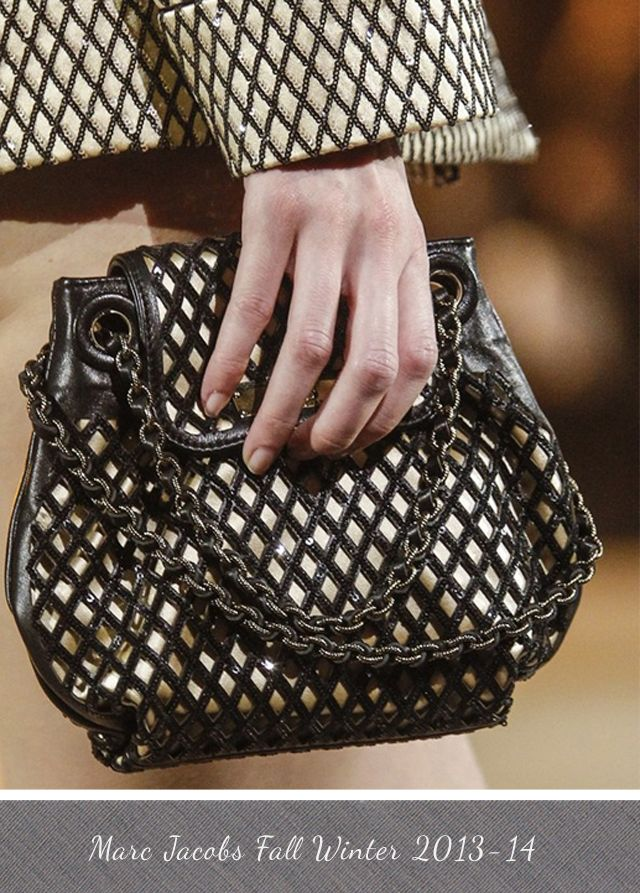 Marc Jacobs Sequinned Latice Bag From Fall Winter 2017 14