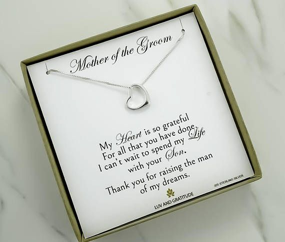 Mother of The Groom Gift from Bride Mother in Law Gift from Bride Gift for Mother of The Groom Future Mother