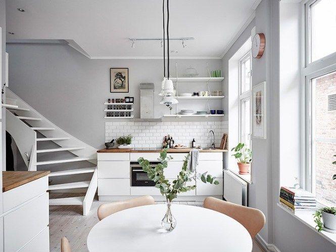 6 Claves Para Una Cocina Blanca Nordica Cocina Minimalista