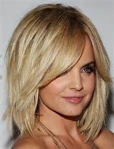 shoulder length bob with layers medium brown hair - Bing Images