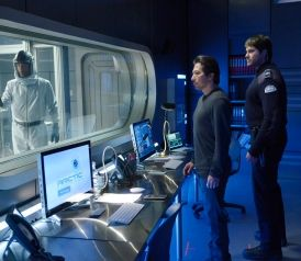 HELIX - New TV show from SYFY. Helix's pilot gets going when the facility's shady director, Dr. Hiroshi Hatakecalls in a team of researchers from the CDC and U.S. Army Medical Research Institute of Infectious Diseases to investigate and contain a viral outbreak—about which, of course, he knows more than he's telling.