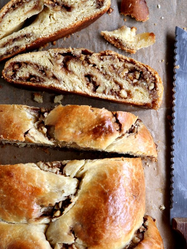 The ultimate sweet bread— braided challah stuffed with a swirled cinnamon-walnut filling.  My Dad always says on the ski slopes— if you're not falling, you're not learning. That phrase continues to motivate me, both on and off the slopes. For example, some [...]
