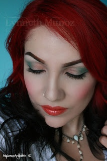 Spring Mint! makeup tutorial (ooh, I can do this look now that I have both of these colors handy!)