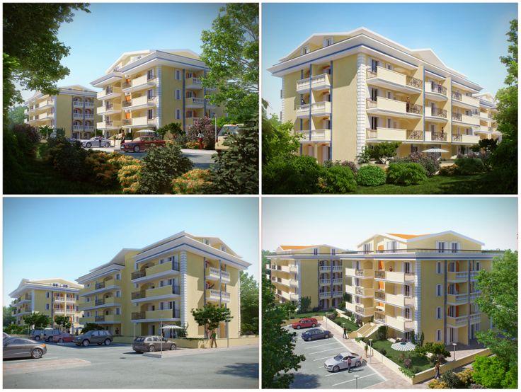 3d Apartment Design Exterior 27 best architectural 3d exterior design images on pinterest