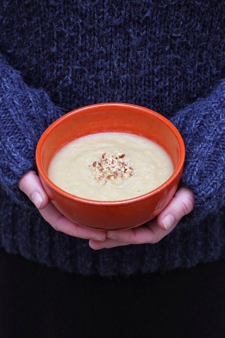 Njamelicious: Pastinaaksoep met vijfkruidenpoeder *voor Dille en Kamille