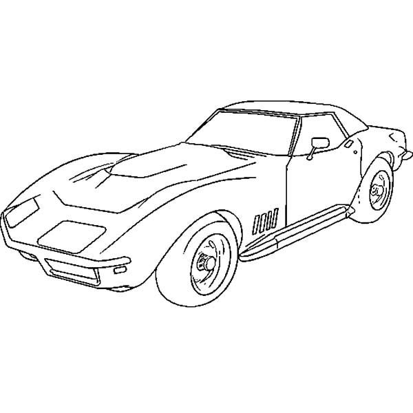 Corvette Cars How To Draw Corvette Cars Coloring Pages In 2020 Cars Coloring Pages Corvette Art Race Car Coloring Pages