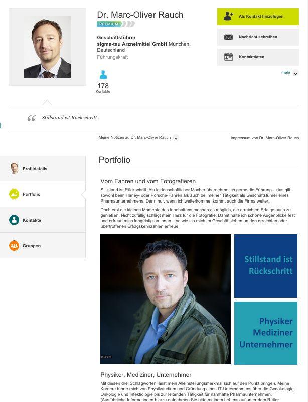 #XING Profil Portfolio - Text: @constanzewolff, Fotos: @raimund & Konzept @networkfindercc - http://www.networkfinder.cc/xing-profil-optimierung-linkedin-profiling-unternehmensprofil-companypages/
