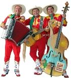 The Rodeo Riders Wed, Jan 29/14 @ 2 p.m. at Horizon Stage.   Complete with rhinestones and star-studded boots these good 'ol boys perform a mix of western hits and country standards from the '40s and '50s with just a touch of their own swingin' style.  Tix: $25 All Ages  www.therodeoriders.ca