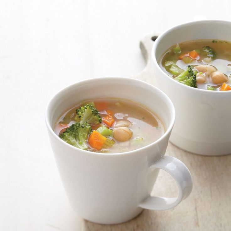 Miso chickpea Soup for breakfast? This one is packed with nutrition for a warm, savory start to the day.