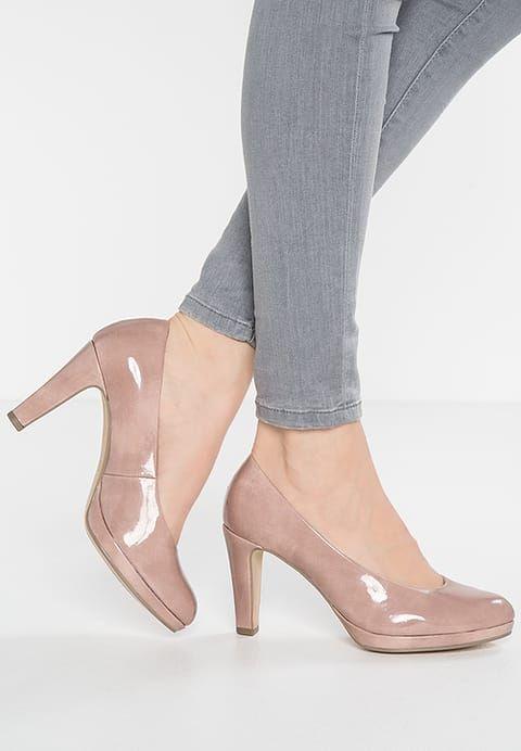 Chaussures Gabor Escarpins à plateforme - antikrosa rose: 79,00 € chez Zalando (au 25/02/17). Livraison et retours gratuits et service client gratuit au 0800 915 207.