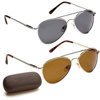 Milano Polarized Sunglasses with free hard case included only £26.99
