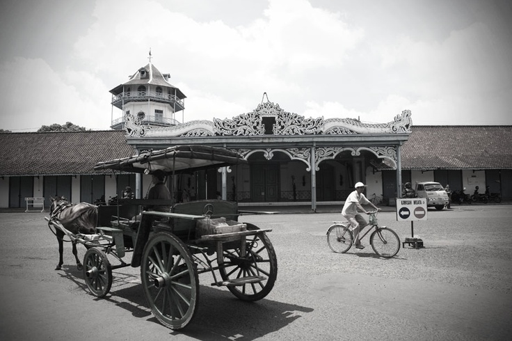 The Surakarta Hadiningrat Palace stands majestically at the heart of Solo, heritage of the once great Mataram Kingdom.