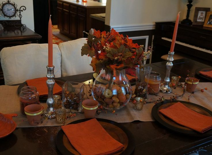 Fall Home Decor Everything from Tablescape, Fall