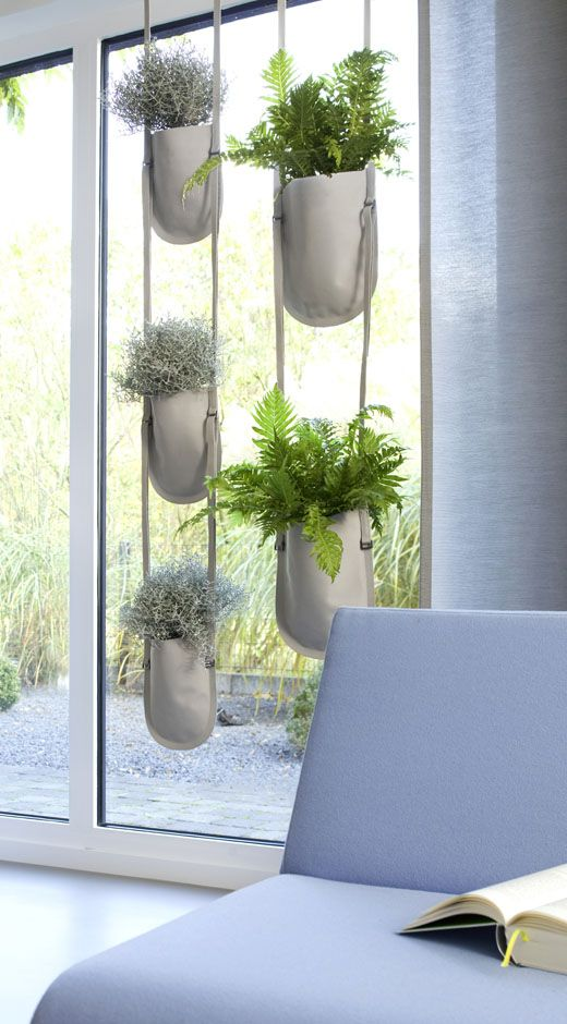 Urban Garden Planting Bag - Hanging - by Authentics - Nischenartikel.de - original design products