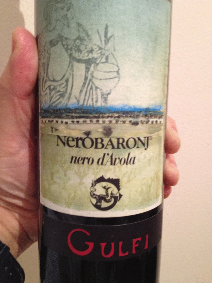 NeroBaronj cantina Gulfi-   Un nero d'avola dal gusto ampio, avvolgente, fitto ed elegante.