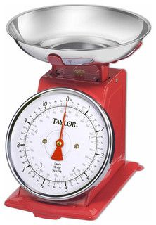 Kitchen Scale, Stainless Steel - traditional - timers thermometers and scales - by Walmart