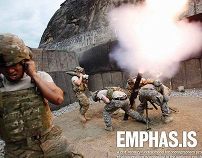Emphas.is is an innovative way for people like you, who care about photojournalism, to be part of its creation and funding.Crowdfunding to enable photojournalists to pitch their projects directly to the public. Backers can also help a photography book b…