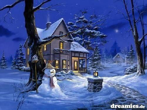 Szép téli kép...,Havas téli kép...,