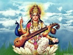 Image result for goddess saraswati