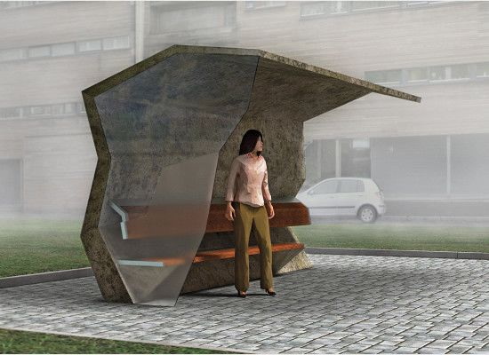 12 Most Innovative Bus Stop Concepts | Free and Useful Online Resources for Designers and Developers