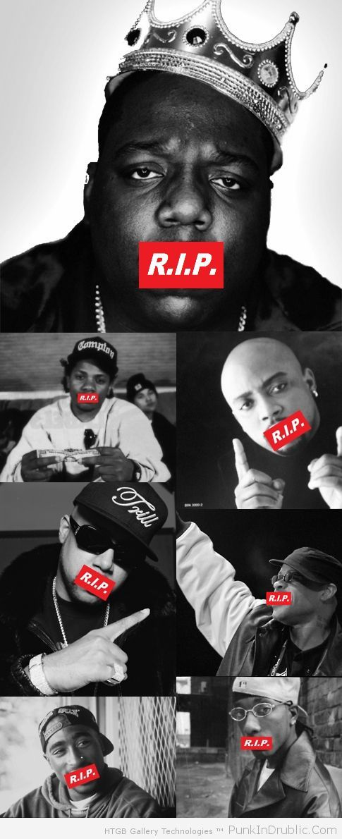 It's not that they did anything special. They just gave voice to a voiceless generation... RIP Hip Hop