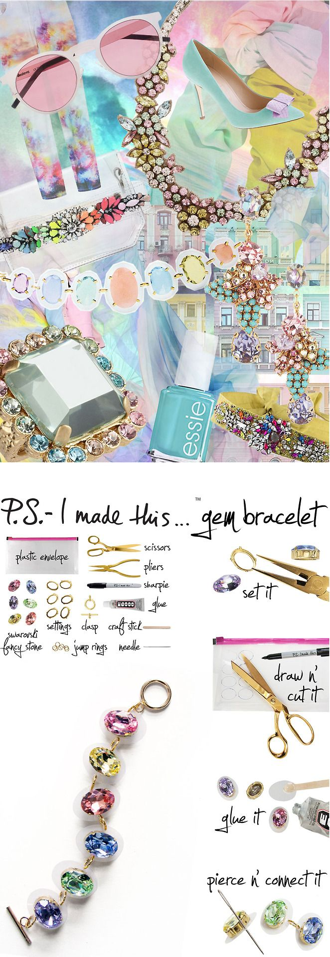 Sometimes you just need to have a girly moment. With Spring air flowing and flowers in bloom, it's the perfect time to trade tough z...