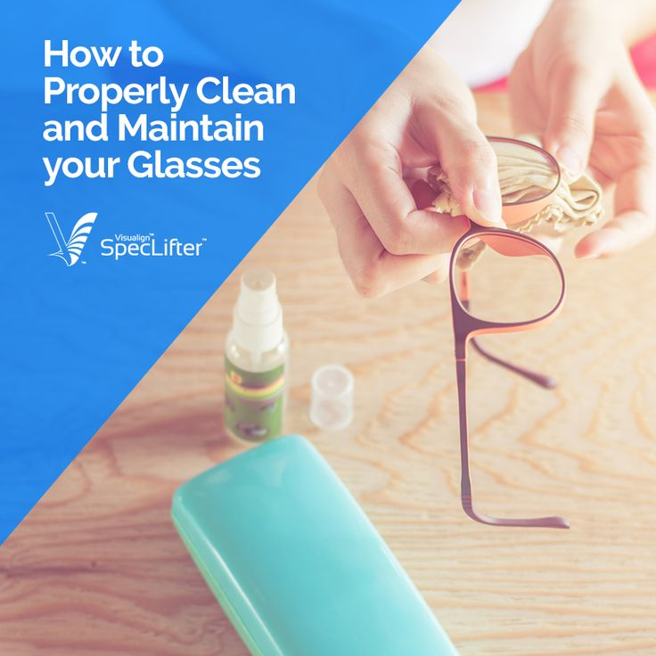 If you wear glasses on a daily basis, you know how crucial they are to your every day success. Learning how to properly clean and maintain them is key to keeping them for a long time: http://bit.ly/2szzHV0