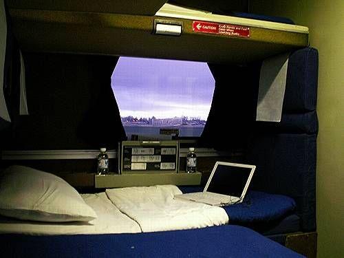 Amtrak Sleeper Car We Should Have More Trains Pinterest