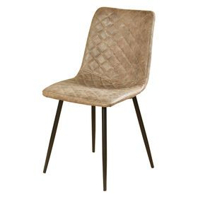Picture of PARKER TAUPE DINING CHAIR