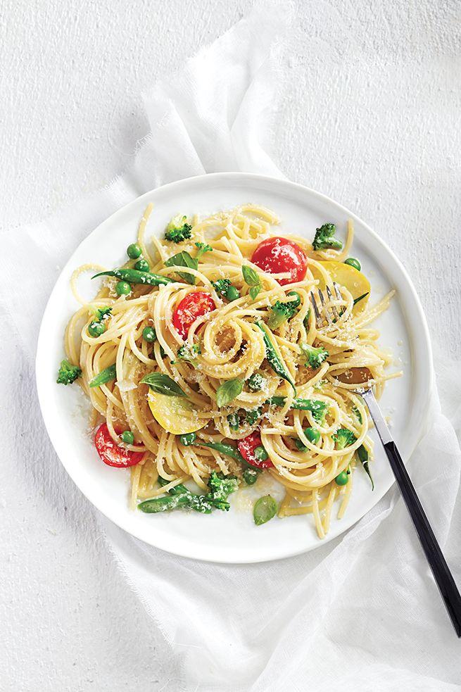 One-pot-pasta primavera - Châtelaine