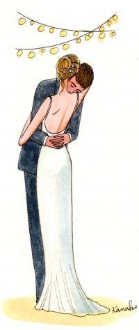 My Little Wedding #illustration / Il mio semplice Matrimonio #illustrazione