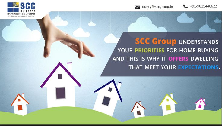 SCC Group understands your priorities for home buying and this is why it offers dwelling that meet your expectations.