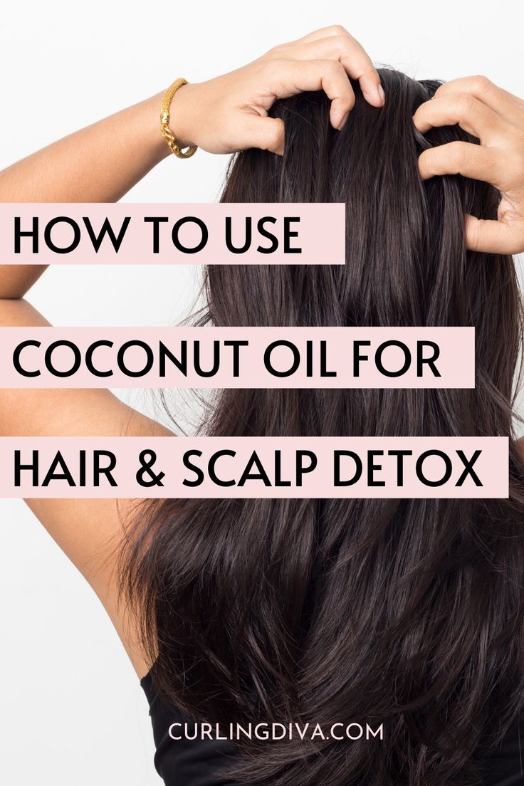 How to use coconut oil for scalp detox scalp detox dry