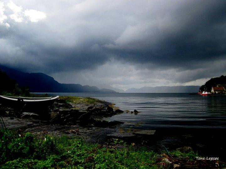 KVALØY, VINDAFJORD, ROGALAND, NORWAY.