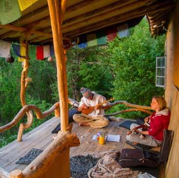 Workaway in Bulgaria. Living in nature - help around in a beautiful wild forest of Bunovo in Bulgaria.
